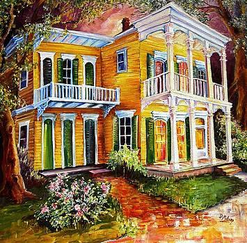 Garden District Home  by Diane Millsap
