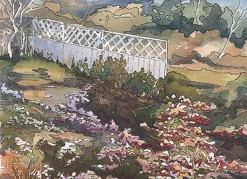 Garden Fence by Robynne Hardison
