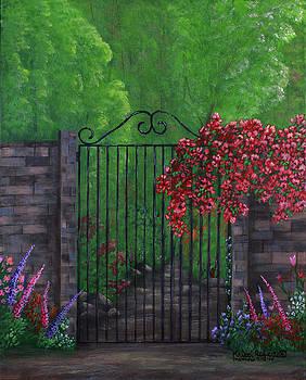 Garden Gateway by Kristi Roberts