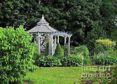 Garden Gazebo by Verena Matthew