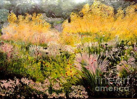 Garden In Northern Light by Dagmar Helbig