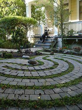Garden Labyrinth by Live Wire Spirit
