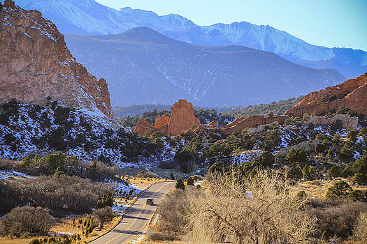Garden of the Gods 3 by Angela Moreau