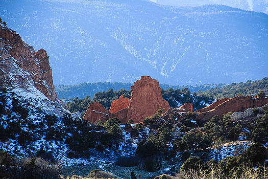 Garden of the Gods 4 by Angela Moreau