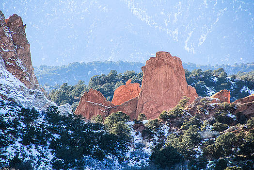 Garden of the Gods by Angela Moreau