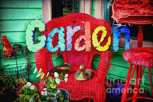 Garden Sign by Lynn Sprowl