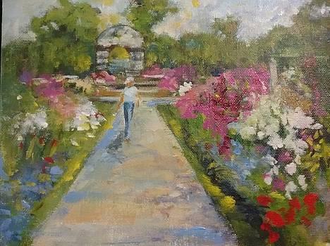 Garden Stroll by Joan Sicignano