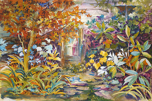 Garden Study by Lois Mountz