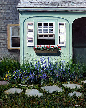 PAUL WALSH - GARDEN WINDOW
