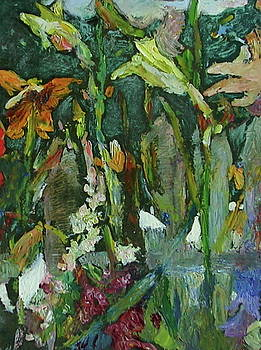 Garden with Suzuki by June Harding