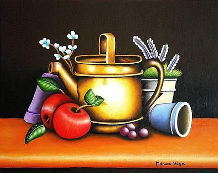 Gardening Glee by Monica  Vega