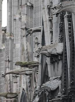 Gargoyles North Notre Dame by Christopher Kirby
