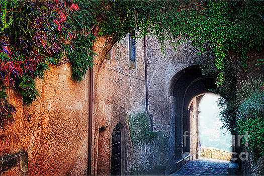 Gate of an Ancient Town by George Oze