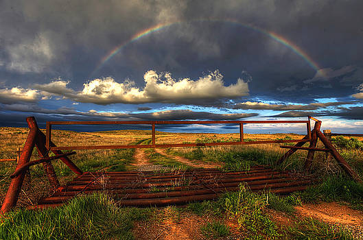 Gated Sky by Chris  Allington