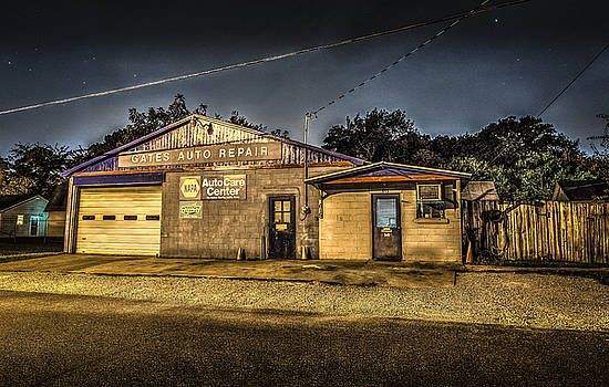 Gates Auto Repair by David Morefield