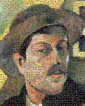 Gauguin Self Portrait by Gilberto Viciedo