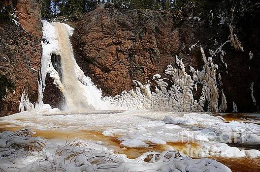 Gauthier Falls Ice by Sandra Updyke