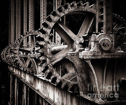 Gear of a Sluice Gate on the Rhone River by George Oze