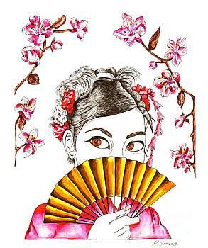 Geisha Girl by Karen Sirard