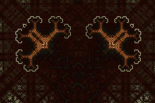 Geometric Patterns No. 64 by Mark Eggleston