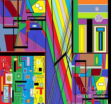 Geometry Abstract by Eloise Schneider