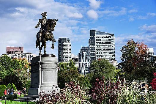 George Washington Boston by John Greim