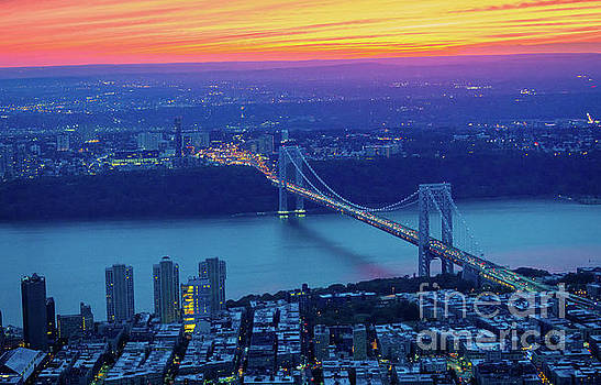 George Washington Bridge by Inge Johnsson