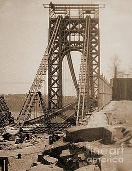 George Washington Bridge by Marcel  J Goetz  Sr