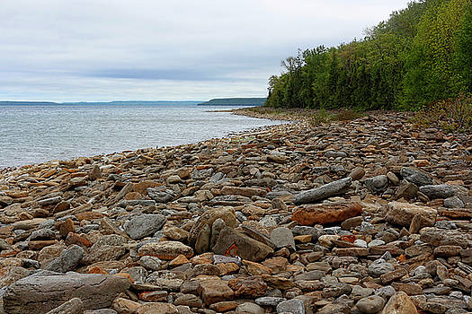 Barbara McMahon - Georgian Bay Rocky Shoreline