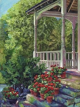 Geranium Summer by Mona Davis