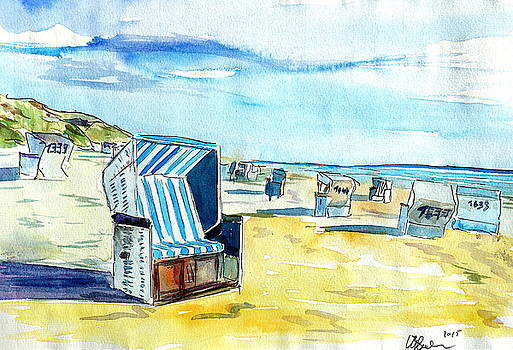German Island feeling on Sylt with Strandkorb by M Bleichner