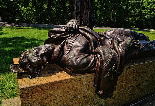 Gettysburg - Louisiana Monument 001 by George Bostian