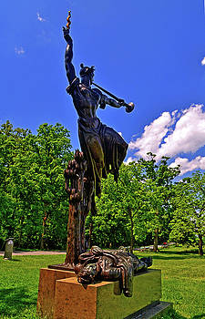 Gettysburg - Louisiana Monument - Going Home by George Bostian