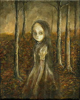 Ghost In The Forrest by Mya Fitzpatrick