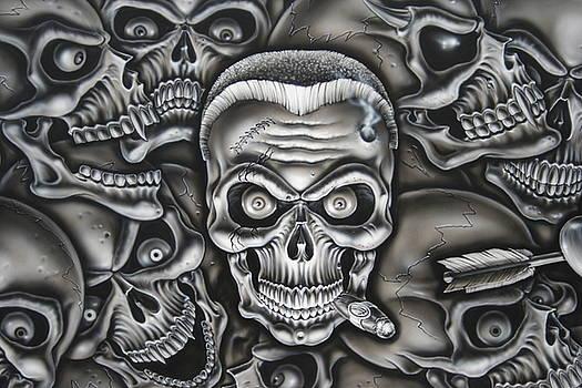 GI Joe Skull by Terry Stephens