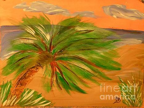 Giant Palm Tree by Marie Bulger