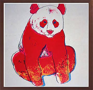 Giant Panda by Andy Warhol