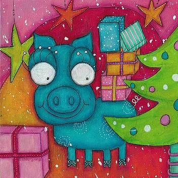 Gifting Piggy by Barbara Orenya
