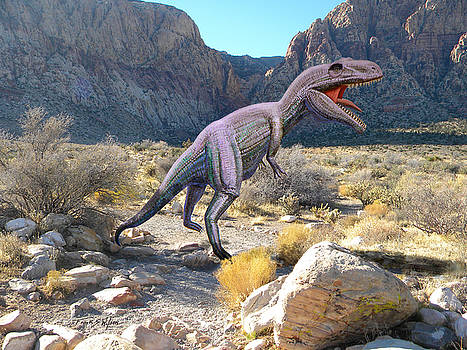 Frank Wilson - Gigantosaurus In The Desert