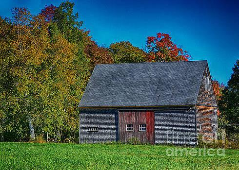 Gilmanton N H Barn by Mim White
