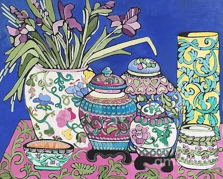 Ginger Jars by Rosemary Aubut