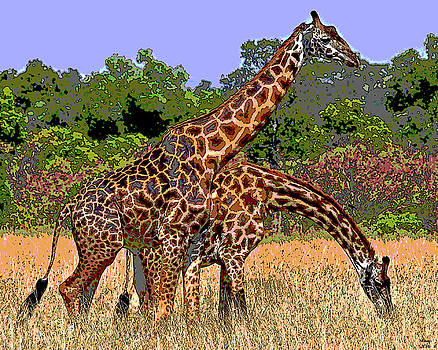 Giraffe by Charles Shoup