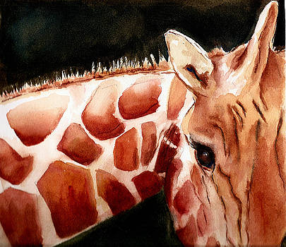 Giraffe by Rhonda Hancock