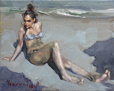 Ylli Haruni - Girl at the Beach