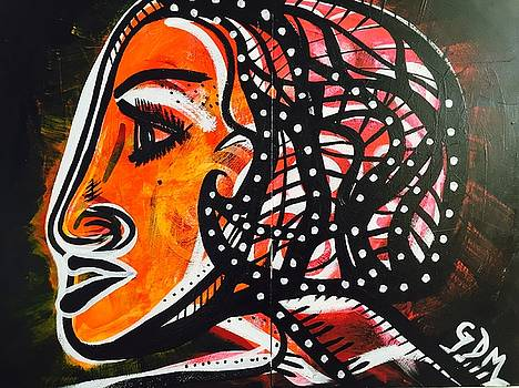Girl in a fast car by Geoffrey Doig-Marx