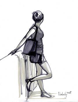 Girl by Natoly Art
