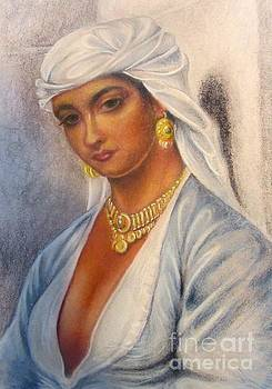 Girl of North Africa by Drew
