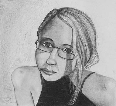 Girl with Glasses by Donovan Hubbard