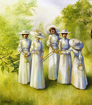 Girls in the Band by Jane Whiting Chrzanoska