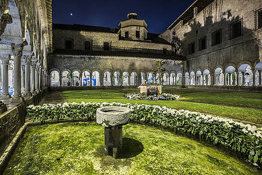 Girona Cathedral Cloisters Catalonia by Marc Garrido